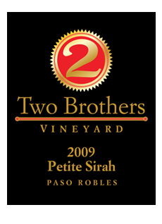 Two Brothers Vineyard Wine Label