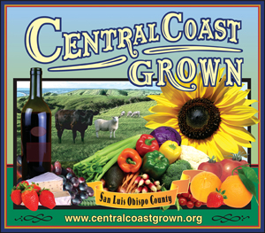 Central Coast Grown Label