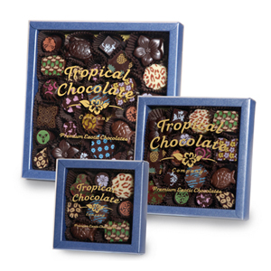 Tropical Chocolates Packaging